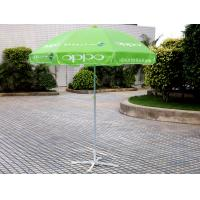 Wholesale Windproof Beach Market Umbrella Green from china suppliers