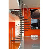 Wholesale Stainless Steel Rod Railing Wood Loft Staircase from china suppliers