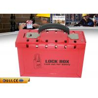 Wholesale ZC-X01(S) Durable Red Lock Out Kit , 1358g Steel Safety Lockout Kit from china suppliers