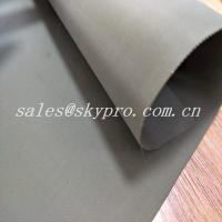 Wholesale Custom Wear Resistant Hypalon Rubber Sheet Neoprene Fabric Roll , Hardness 68±5 from china suppliers