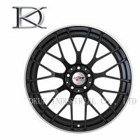 Wholesale Professional Black Forged Wheels , Forged Aluminum Wheels For Cars Customize from china suppliers