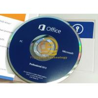 Quality 32 / 64Bit Computer System Softwares , Microsoft Office Professional Plus 2013 DVD Drive for sale