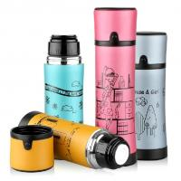 Wholesale Office Bike Bicycle Stainless Steel Water Bottle Vacuum Thermos Flask 350/500m from china suppliers