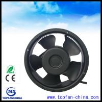 Wholesale Round Plastic Impeller Explosion Proof Equipment Cooling Fans With Terminal / Lead Wire from china suppliers