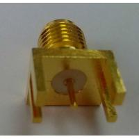 Buy cheap straight rf coaxial sma connectors for pcb from wholesalers