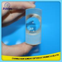 China CaF2 Calcium Fluoride Convex Lens and concave lens,High Precison on sale