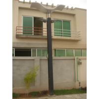 Wholesale 4m Height Square Pipe Fibre Glass Outdoor Garden Lights 26w For Residential Lighting from china suppliers
