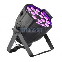 Wholesale LED par light 18*18W RGBWA+UV for events, production, concert, party, church from china suppliers