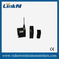Wholesale 30dBm NLOS COFDM SD Wireless Audio Transmitter And Receiver System Light Weight from china suppliers