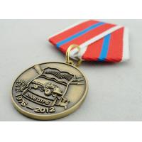 Quality Souvenir Gift Zinc Alloy 3D Custom Medal Awards with Ribbon Two Sides Die Casting for sale