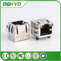 Wholesale KRJ - 56S8P8C1X1YGENL Metal Shielded Rj45 Jack Connector Without Transformer from china suppliers