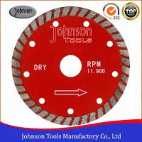 China 125 Mm Sintered Wide Turbo Saw Blade Diamond Cutting Blade For General Purpose on sale