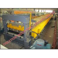 Wholesale Horizontal Galvanised Steel Floor Deck Roll Forming Machine Width 1000mm from china suppliers