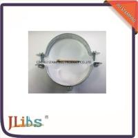 Quality Zinc Plated / Plastic Dipping Steel Q195 Galvanised Pipe Clamps 63mm - 315mm for sale