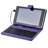 Wholesale 7 Tablet PC USB Keyboard( purple) from china suppliers