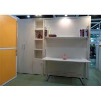 Wholesale Smart Furniture Space Saving White Color Murphy Wall Bed With Table from china suppliers