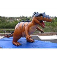 Wholesale Life Sized Inflatable Dinosaur Giant Jurassic World Fire Resistant from china suppliers