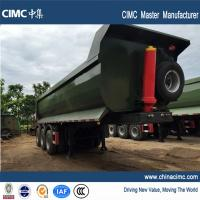 Wholesale 40 tons hydraulic tipping semitrailer for sales in Uganda from china suppliers