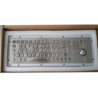 Wholesale Desktop Illuminated Metal Keyboard , Stainless Steel Keypad from china suppliers