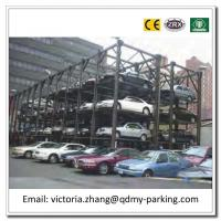 Wholesale Hydralic and Motor Drive Simple Mode Triple Stacker Parking Lift 3 Level Parking Lift from china suppliers