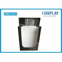 Wholesale Retail POP Cardboard Display Dump Bins Black UV Coating For Faucet from china suppliers