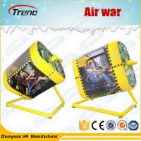 Wholesale Amusement Park 720 Degree Yellow VR Flight Simulator With HTC Glasses 220 Volt from china suppliers