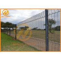 Wholesale Powder Coated Welded Panel Fence Mesh Fence Invisible Security Fence Strong from china suppliers