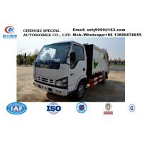 Wholesale high quality and competitive price ISUZU 5m3 garbage compactor truck for sale, HOT SALE! ISUZU 4tons compactor truck from china suppliers