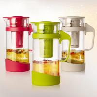 Buy cheap 1.3L Borosilicate Glass infuser jugs, Fruit Infusion Flavor tea Pitcher from wholesalers