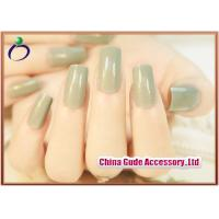 Wholesale DIY Lady Decorated Matte Full Salon Fake Nails and natural looking fake nails from china suppliers