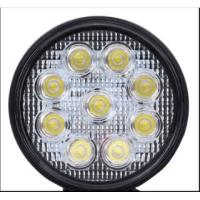 Wholesale CE RoHS round led work light for off road car , SUV , Jeep / IP67 24W car led light bar from china suppliers
