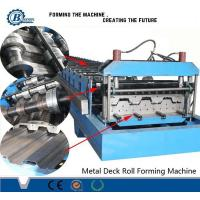 Wholesale Construction Metal Steel Floor Decking Roll Forming Machine For Africa Market from china suppliers