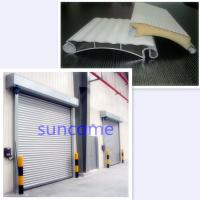 Quality White Panel Automatic Roller Door Roller Shutter Door 304 Stainless Steel for sale