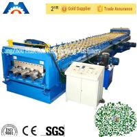 Wholesale Floor Deck Panel Floor Deck Roll Forming Machine 28 Stations 12.7x1.85x1.61m from china suppliers