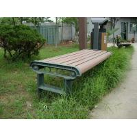 Wholesale Anti - deformation Composite Outdoor Furniture WPC Bench With High Impact Resistant from china suppliers