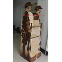 Buy cheap Customized corrugated cardboard retail shelf display Gloss lamination from wholesalers