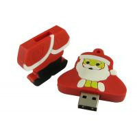 Wholesale Customized USB Flash Drive, Santa Claus USB 2.0 Flash Stick For Christmas Gift from china suppliers