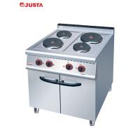 Wholesale JUSTA Electric 4-Plate Range Burner Cooking Range With Cabinet Western from china suppliers