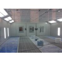 Wholesale 6.9M Woodworking Spray Booth , Down Draft Paint Booth Water Curtain Extraction from china suppliers
