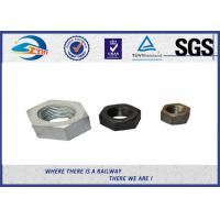 Wholesale High Strength Railway Fastenser Hex Railway Nuts Cold bending 90 degree from china suppliers