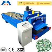 Wholesale Steel / Metal Finnera Glazed Tile Roll Forming Machine PLC Control from china suppliers