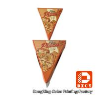Wholesale Disposable Unique Individual Pizza Slice Boxes For Pizza Slice Packaging from china suppliers