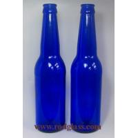 Wholesale 330ml cobalt blue beer glass bottle from china suppliers