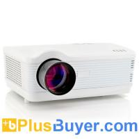 Wholesale DroidBeam - Android 4.2 HD Projector (3000 Lumens, 2000:1, WiFi, 1.5GHz Dual Core, White) from china suppliers