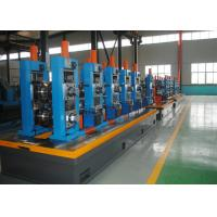 Wholesale High Precision Carbon Steel ERW Tube Mill Line With Worm Adjustment from china suppliers
