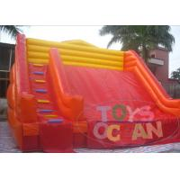 Wholesale Red Yellow Color Matching Costomized Size Giant Inflatable Slide Customzied Color from china suppliers