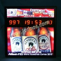 Wholesale KENTUCKY Beer LED Countdown Display from china suppliers