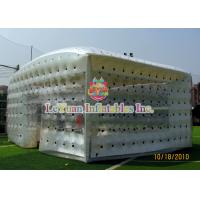 Wholesale Closed Airtight Tent / Inflatable Cube Tent Flexible To Move Environmental Protection from china suppliers