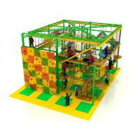 Wholesale family indoor park teenager rope course adventure indoor play area with climbing from china suppliers