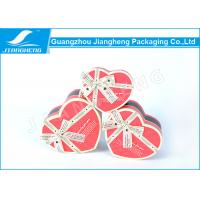 Wholesale UV Printing Cardboard Gift Boxes , Heart Shaped Chocolate Box Packaging from china suppliers